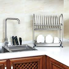 countertop dish rack home dish racks countertop kitchen towel rack
