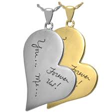 b b teardrop heart personalized jewelry front drawing handwriting per 504