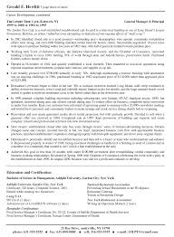 Coo Resume Template President COO Manager Resume President COO Manager Resume Sample 8