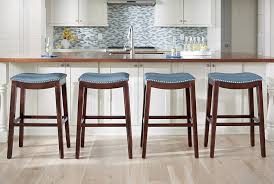 Julien Leather Bar Stool Counter Grandin Road 6 Quantiply Co Residence Blue  Stools In Addition To Blue Leather Bar Stools I97