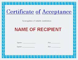 Free Warranty Deed Form Best Of Generic Certificate Of Acceptance ...