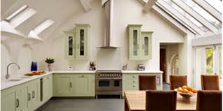 Kitchen With Vaulted Ceilings Shaker Kitchen With A Stunning Vaulted Ceiling Harvey Jones Blog
