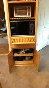 Cutting Board Cabinet Microwave Cabinet Finewoodworking