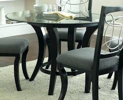 appealing round glass dining room table round glass dining table inch round glass dining table and