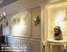 Small Picture molding ideas for walls Decorative wall molding or wall moulding
