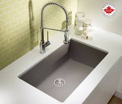 Keep Clean With This Blanco Precis U Super Single Silgranit Sink In