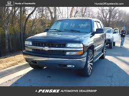 2001 Used Chevrolet Tahoe 4dr 4WD LT at Chevrolet of Fayetteville ...