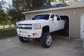 Mighty Mean White Truck: Derek Meinder's 2013 Silverado 2500HD ...