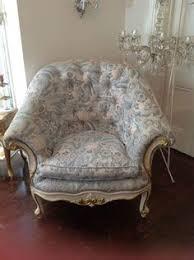 french provincial shabby chic high tea salon chair louis xv