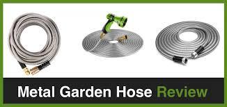 best metal garden hose reviews 2019