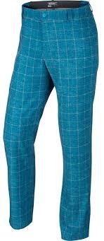 Light Blue Plaid Pants Nike Plaid Pant 639780 Discount Golf World