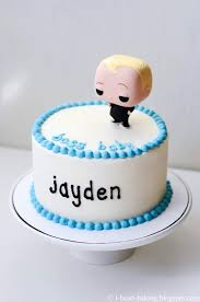 I Heart Baking Boss Baby First Birthday Cake