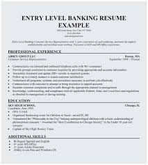 Examples Of Summaries For Resumes Sample Resume For Bank Jobs With No Experience Best No Experience