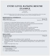 Resume Format For Banking Jobs Sample Resume For Bank Jobs With No Experience Best No Experience
