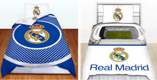 real madrid fc football club single duvet quilt cover