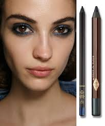 must try eyeliner trends from the 2016 spring summer runways pictured sonia rykiel spring 2016 the evening smoky eye gets finished off with grown up