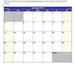 Microsoft Word Calendar Template 2013 Microsoft Word 2013