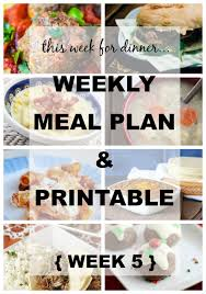 weekly meal planning for two printable weekly meal planner weekly meal plans weekly meals and