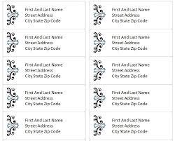Avery Template 40 Microsoft Word Free Avery Address Label Template Fascinating Address Label Templates