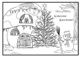 Luxe Kerst Kleurplaat Groep 3 Klupaatsdownload
