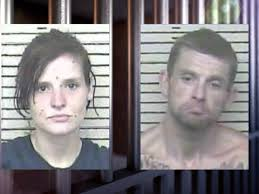 Two arrested for stealing car from a worksite