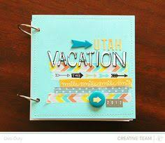 Vacation Albums 37 Best Scrapbook Mini Album Vacation Images Mini Scrapbook Albums