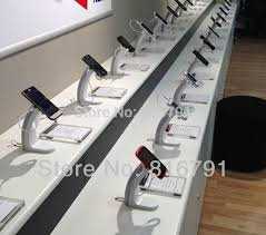 Cell Phone Display Stands Mobile Retail Store Anti Theft Cell Phone Display Stand Exhibition 23