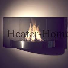 nu flame nf w4vio vivo wall mounted ethanol bio fireplace mounted