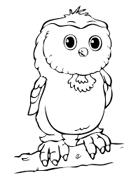 Small Picture Owl Coloring Pages For Toddlers Coloring Pages