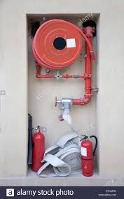 American Fire Hose And Cabinet Fire Hose Reel Stock Photos Fire Hose Reel Stock Images Alamy