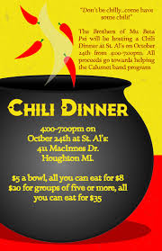 chili supper flyer archives october 2015 student organizations news brief