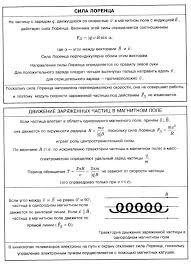 Справочник по физике Магнитное поле сила Лоренца движение  Магнитное поле сила Лоренца движение заряженных частиц в магнитном поле