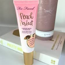 too faced peach perfect fort matte foundation blonde tea party blonde tea party