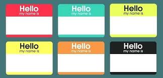 Name Templates Printable Badge Fun Name Tags Printable Free Templates Fancy Badges