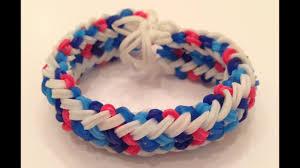 Mini Loom Designs How To Make The Mini Snake Belly Rainbow Loom Bracelet Part 1 Of 2