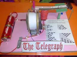 how to build simple telegraph sets telegraph sci instrument also i installed a register to copy down the code here is a picture of rahul s telegraph set nice job rahul