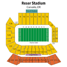 Oregon State Football Seating Chart Tickets Oregon State Beavers Football Vs California Poly