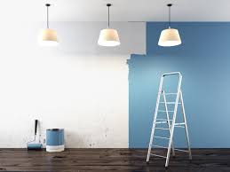 blue interior paintPractical Tips to Ensure Color Consistency on Big Interior Paint