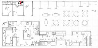 Plain Bbq Restaurant Kitchen Layout Drawing E 4132494441 Design Inspiration In Simple