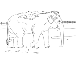 Coloring Page Elephant Elephant Coloring Pages Pdf Elephant Coloring