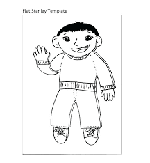 Flat Stanley Template Best Flat Journal Template Printable Strand Biology Stanley Travel Random