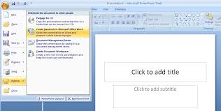 microsoft office presentations presentation in ms powerpoint repairing corrupt presentations