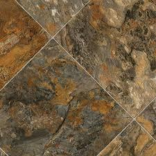 sheet vinyl flooring ivc 13 1 8 ft w romano stone finish sheet vinyl