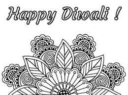 This diwali coloring page features two excited children bursting crackers. Diwali Colouring Worksheets Teaching Resources Tpt