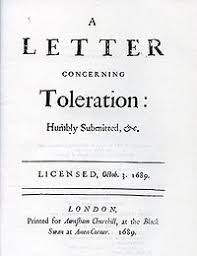 Essay On Tolerance A Letter Concerning Toleration Wikipedia