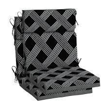 hampton bay black lattice outdoor high