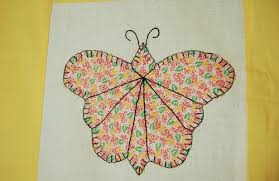 CHEERY Vintage 30's Butterfly Applique Antique Quilt Top ~NICE ... & CHEERY Vintage 30's Butterfly Applique Antique Quilt Top ~NICE YELLOW! Adamdwight.com