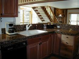 Baltic Brown Granite Kitchen Kitchen Baltic Brown Kitchen With Freestanding Island Feat Honed