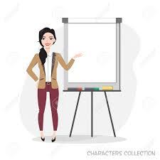 Presentation On Flip Chart Paper