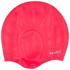 <b>Шапочка для</b> плавания <b>BRADEX</b> силиконов... — купить по ...
